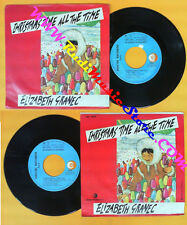 LP 45 7'' ELIZABETH GRANEC Christmas time all the time 1985 italy no cd mc dvd