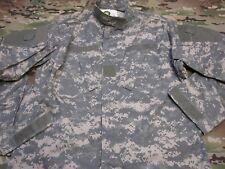 US ARMY COMBAT UNIFORM TOP ACU DIGITAL COAT LARGE/X-LONG SHIRT RIP-STOP BR