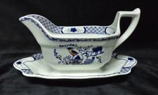 Wedgwood - Volendam - Gravy/Sauce Boat with Attached Underplate