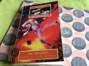 Doctor Who The New Adventures preludes. Rare illustrated paperback
