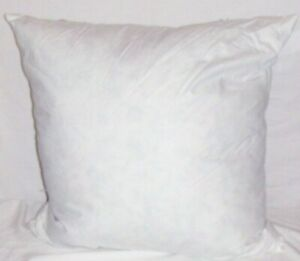 """New RALPH LAUREN PILLOW INSERT 22"""" SQUARE DOWN FEATHER STUFFING DUCK GOOSE THROW"""