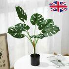 40cm Large Artificial Plants Home Office Indoor Garden Faux Plant Tree Pot Decor