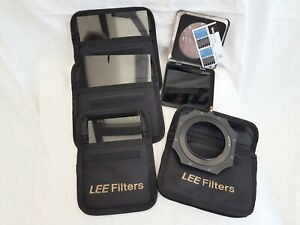 LEE FOUNDATION KIT INCLUDES X4 FILTERS (INCL 10 STOP) AND 77MM HOLDER AND EXTRA.