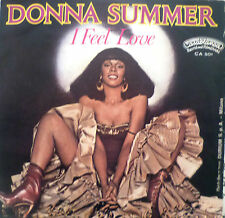 "7"" 1977 RARE ITALY-PRESS VG++ DONNA SUMMER I Feel Love"
