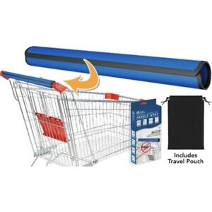 Klear Shopping Cart Handle Wrap, 15.5 in., Universal, Easy to Use, One Size