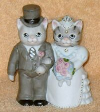 "Kitty Cucumber Bride And Groom "" The Happy Couple """