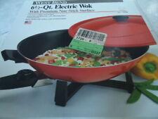 West Bend 6 ½ Quart Electric Wok With Premium Non Stick Surface #79506