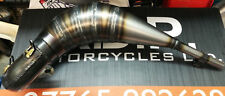 Honda CR125 1989 89 Fresco Exhaust Front Pipe Coned Hand Made Evo
