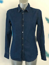 chemise bleu jeans femme TOMMY HILFIGER taille 36 fr (4) excellent état