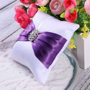 Ring Pillow Lovely Ring Bearer Pillow Ring Bearer Cushion for Wedding Engagement