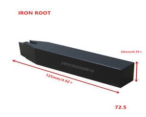 1P SVVCN2020K16 CNC Lathe External Turning Tool Holder For VCGT1604 Insert