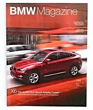 Feb 2008 BMW Magazine X6 First Sports Activity Coupe Car SUV  No Label