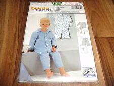 BURDA-BABY Schnittmuster 2639             SCHLAFANZUG           68-92
