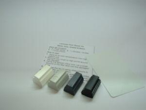 Laminate Floor Worktop Furniture Scratch Repair Kit White Black Grey