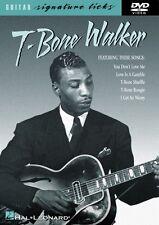 T-Bone Walker Signature Licks DVD Instructional Guitar  DVD NEW 000320351