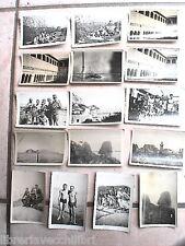 Lotto foto soldati tedeschi SECONDA GUERRA MONDIALE Capri Faraglioni Porto di a