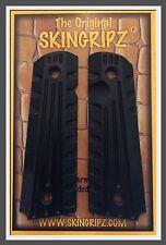 """1911 Grips - """"TAC II"""" Full Size Colt Kimber  - (Black) -Original SkinGripz !"""