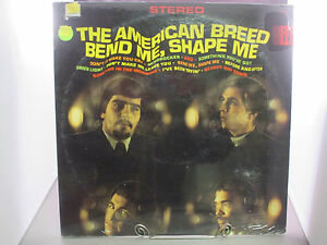 THE AMERICAN BREED Bend Me, Shape Me SEALED Orig 1968 FUNK ACTA 38003 drill hole