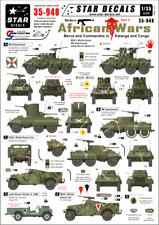 Star Decals 1/35  Modern African Wars Pt 3 Mercs and Commandos decals 35948