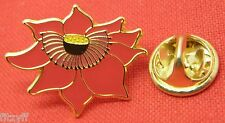 Red Lotus Sacred Flower Lapel Pin Badge Buddhism Buddhist Buddha Symbol Brooch