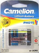 BATTERIA per fotocamera al litio 2cr5 BATTERIA DELLA FOTOCAMERA 6v ad alta potenza cella