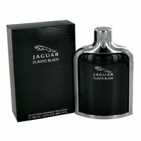 Jaguar Classic Black Cologne by Jaguar, 3.4 oz EDT Spray for Men NEW