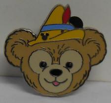 Disney pin Dlr 2013 Hidden Mickey Series Duffy's Hats Pinocchio Pin