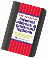 The Personal Internet Address & Password Log Book: By Peter Pauper Press