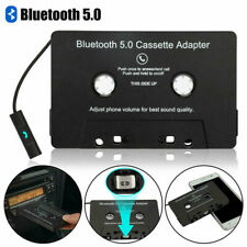 More details for universal cassette bluetooth 5.0 audio car tape aux stereo adapter with mic