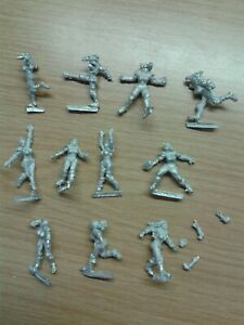 BLOOD BOWL fantasy football AMAZONS TEAM - 11 metal players