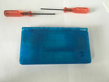 Full Repair Housing Shell Case Replacement for Nintendo DSi NDSi  Clear Blue