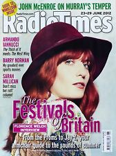 Radio Times Magazine Florence Welch and the Machine Sarah Millican Barry Norman
