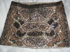 Stunning  All Saints Python Sequin Skirt Size 6 Excellent Condition