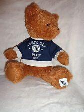 "Good Stuff Teddy Bear Tampa Bay Rays Baseball 12"" Plush Soft Toy Stuffed Animal"