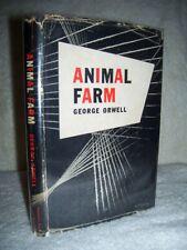 ELEANOR ROOSEVELT'S COPY W/ HER BOOKPLATE of George Orwell  ANIMAL FARM  1st/dj