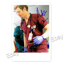 Nick gehlfuss/Dr. wants Halstead Chicago MED AUTOGRAPH PHOTO CARD LAMINATED [ak2]