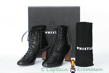 WHISTLES DAHLIA LACE UP ANKLE BOOT BLOGGERS UK 4 EUR 37 BNIB SOLD OUT