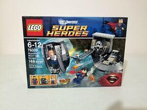 SEALED 76009 LEGO DC Comics Super Heroes SUPERMAN BLACK ZERO ESCAPE Lois Lane