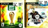 FIFA for PS3 Bundle- FIFA 14 & 2014 FIFA World Cup Brazil New Lot of 2