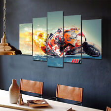 Framed Wall Art marc marquez Motogp Racing picture Painting Canvas Home Decor