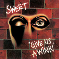 THE SWEET GIVE US A WINK! CD with BONUS TRACKS (New Release 2018)