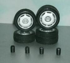 1/18 Scale Bridgestone Tire Set with Four Jaguar XJ220 Rims - Diorama Wheels