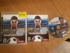 Pro Evolution Soccer 2008 (Sony PlayStation 3, 2008) PES Complete CIB PS3