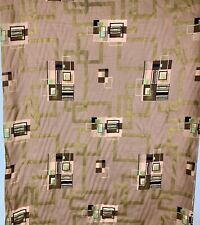 1956 Upholstery Drapery Covington Fabric 8.33 yds 45 W Cotton Mid Century Modern