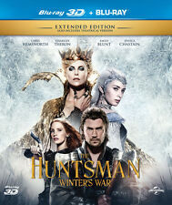 The Huntsman: Winter's War (Blu-ray 3D + Blu-ray)(All Region)(Extended)(ALL) New