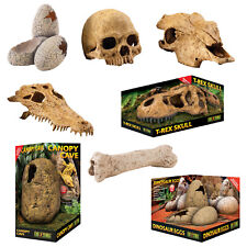 Exo-Terra Reptile Natural Look Secure Hideouts Hide Caves to Prevent Stress