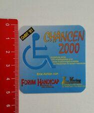 Pegatina/sticker: cebit 1991-foro handicap (060716190)