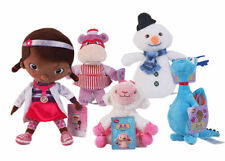 Disney Doc McStuffins Chilly or Hallie Hippo Plush Doll Stuffed Toys Xmas Gift