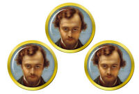 Dante Gabriel Rossetti Marqueurs de Balles de Golf