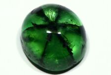 Large 11ct Trapiche Emerald Muzo Colombia Untreated Cabochon Gem Gemstone Rare